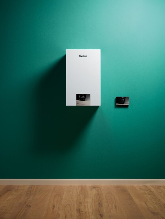 Wall-hung boiler ecoTEC exclusive and system control sensoCOMFORT
